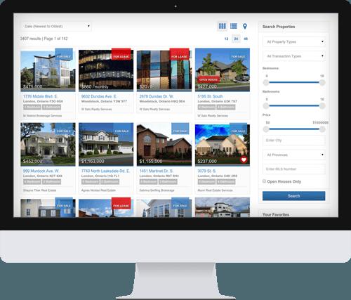 realtor marketing canada, real estate web design canada